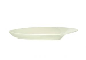 Platte oval Silhouette (6stk)