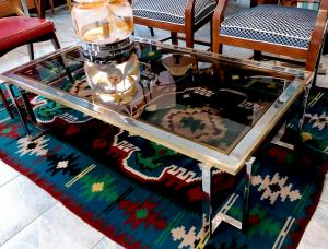 Tavolo vintage da fumo stile Romeo Rega