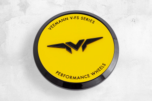 Set 4 VFS Performance Caps Yellow Ferrari