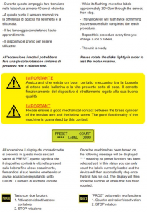 Conta etichetta - Modello CE141