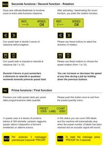 Conta etichetta - Modello CE211