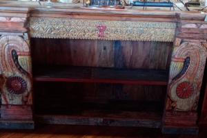 Libreria bassa in legno di teak