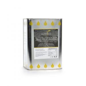 Latta da 3 litri di olio extra vergine di oliva monocultivar taggiasca