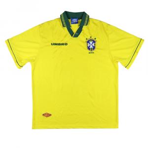 1993-94 Brasile Maglia Home XL (Top)