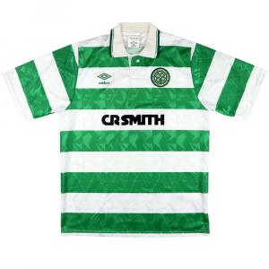 1989-91 Celtic Maglia Home M (Top)