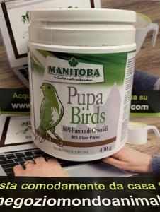 PUPA BIRD 80% farina di Crisalidi 400gr