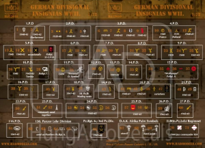 German Division Symbols