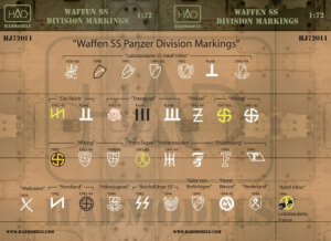 waffen SS division markings