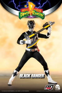 *PREORDER* Power Rangers - Mighty Morphin Action Figure: BLACK RANGER  by ThreeZero