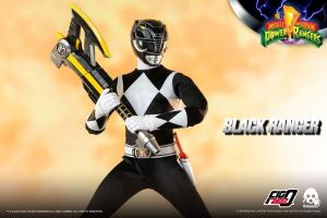 *PREORDER* Power Rangers - Mighty Morphin Action Figure: BLACK RANGER  by ThreeZero