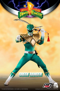 *PREORDER* Power Rangers - Mighty Morphin Action Figure: GREEN RANGER  by ThreeZero