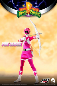 *PREORDER* Power Rangers - Mighty Morphin Action Figure: PINK RANGER  by ThreeZero