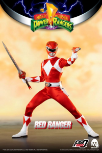 *PREORDER* Power Rangers - Mighty Morphin Action Figure: RED RANGER  by ThreeZero