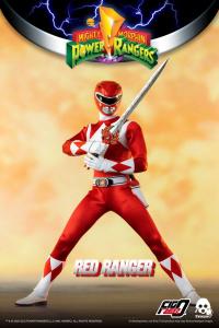 *PREORDER* Power Rangers - Mighty Morphin Action Figure: RED RANGER  by ThreeZero