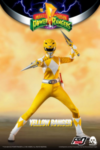 *PREORDER* Power Rangers - Mighty Morphin Action Figure: YELLOW RANGER  by ThreeZero