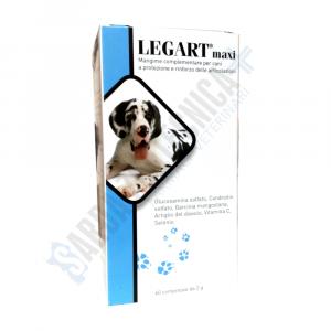 Legart Maxi 60 compresse condroprotettore per cani - Aurora Biofarma