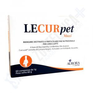 LECURPET MAXI  60 cpr - supporto al metabolismo articolare per cani e gatti - Aurora Biofarma