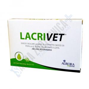 LACRIVET 10 fiale da 0,5 ml - protezione oculare cani e gatti
