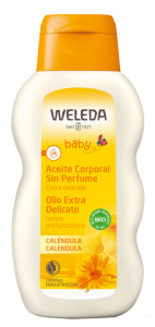 WELEDA BABY CALENDULA OLIO - DOLCE TRATTAMENTO SENZA PROFUMO PER IL BEBE'