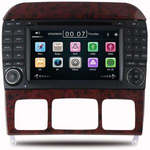 Autoradio 2 DIN navigatore per Mercedes Classe S W220 S280 S320 S350 S400 S430 S500 S600 S55, Mercedes Classe CL GPS DVD USB SD Bluetooth