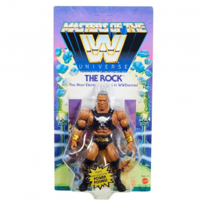 Masters of the WWE Universe: THE ROCK by Mattel