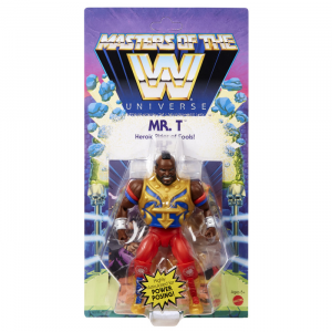 Masters of the WWE Universe: MR. T by Mattel