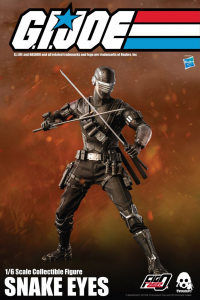 *PREORDER* G.I. Joe FigZero Action Figure: SNAKE EYES by ThreeZero
