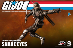 *PREORDER* G.I. Joe FigZero: SNAKE EYES by ThreeZero