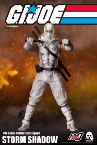 *PREORDER* G.I. Joe FigZero Action Figure: STORM SHADOW by ThreeZero