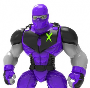 Mighty Maniax action figure: NEKRO  by Rocom Toys
