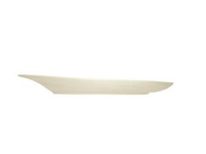Teller assymetrisch Silhouette cm. 28 (6stck)