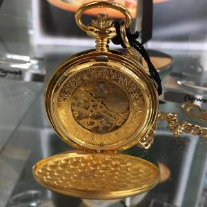 orologio tasca carica manuale lowell collezione Lyonshall PO4296