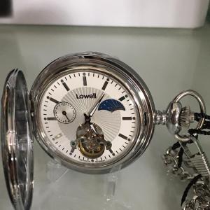 orologio da tasca lowell carica manuale modello PO8114 Allen