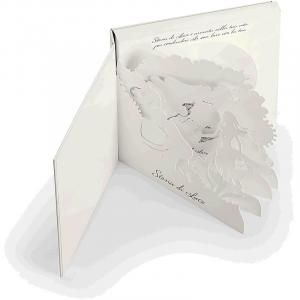 Anello donna Comete gioielli a forma di cuore collezione Storia di Luce