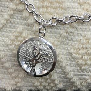 Bracciale argento Vida Mea 2 di S'Ave Maria con ciondolo albero della vita e corbula