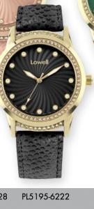 Orologio solo tempo donna Lowell con strass