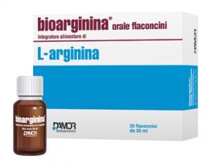 BIOARGININA ORALE FLACONCINI - INTEGRATORE ALIMENTARE A BASE DI L-ARGININA