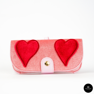 Iphoria, CUORI ROSSI su Rosa Glasses Case