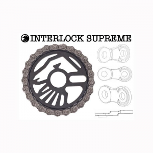 Shadow Supreme interlock Catena Bmx | Colore Red