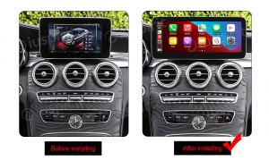 ANDROID navigatore per Mercedes Classe C W205 Classe GLC X253 Classe V W446 NTG 5.0 10.25 pollici 4GB RAM 64GB ROM Octa-Core Car Play Android Auto Bluetooth GPS WI-FI