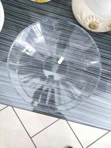 Centrotavola in cristallo diametro 25 cm ccod. racx4090 Ranoldi