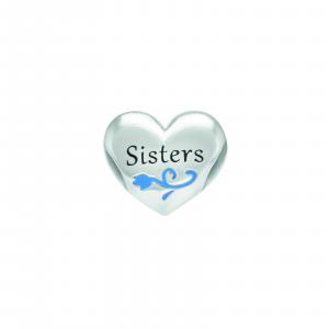 Chamilia Charm in argento Disney Frozen Sisters Heart  Sorelle 2025-1680