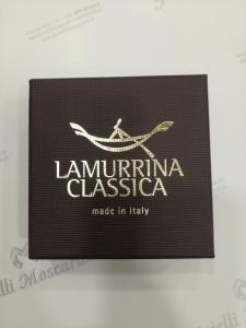 Bracciale donna La Murrina classica nero/argento con elastico