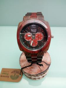 Orologio uomo multifunzione in legno Green Time ZW049B