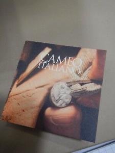 Orecchini Cameo Italiano con Cameo Inciso a Mano O57S Made In Italy