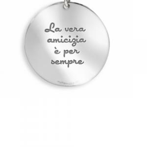 Ciondoli mycharm in argento 925 con frasi incise