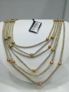 Collana donna Zoppini in acciaio/bronzo  MASH cod. Q1459_0006 listino 129