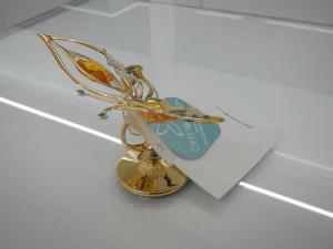 Farfalla Butterfly Crystocraft Con Cristalli Swarovski Original U0208-001-GTO