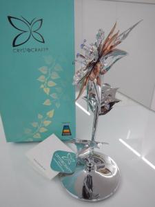 Fiore grande Sun Flower Crystocraft Cristalli Swarovski Original U0308-001-CC1