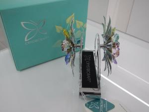 Portatovaglioli Flower Crystocraft Cristalli Swarovski Original U0243-120-CMX